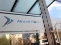 Tür- und Fensterbeschriftung: Aircraft Philipp Karlsruhe