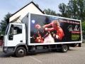 LKW/Fahrzeugbeschriftung: Karlsruher Karate Club