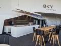 LED-Vollacrylbuchstaben - Rückleuchter: Sky Lounge im Cineplex Kino Baden-Baden