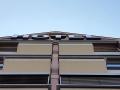 Profil 5 Unterteil aus Aluminium, Oberteil aus Acrylglas, freistehende UK, Ausleuchtung in LED Technik: Hotel am Karlstor Karlsruhe
