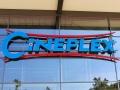 Profilbuchstaben (Profil 8  & Profil 4) mit LED-Ausleuchtung: Cineplex Kino Baunatal