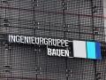 Einzelbuchstaben mit LED-Ausleuchtung: Ingenieurgruppe Bauen Karlsruhe