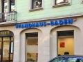 Profilbuchstaben mit LED-Ausleuchtung: Pfandhaus Baden
