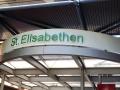 Profilbuchstaben mit LED-Ausleuchtung: St. Elisabethen Krankenhaus Lörrach