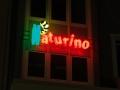 Profilbuchstaben mit Neon-Ausleuchtung: Naturino - Marandino Karlsruhe