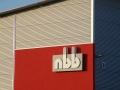 Profilbuchstaben/3D-Sonderbau mit Neon-Ausleuchtung: NBB
